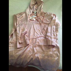 FLEUR DU MAL Anorak Dress In Pink